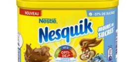 Test Nesquik Moins de Sucres : 2000 boîtes et échantillons