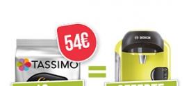 Bon plan : Machine Tassimo gratuite pour l'achat de dosettes