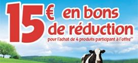 Nos Bel Idées : 4 fromages achetés = 15€ en bons de réduction