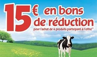 Ribambel : 4 fromages achetés = 15€ en bons de réduction