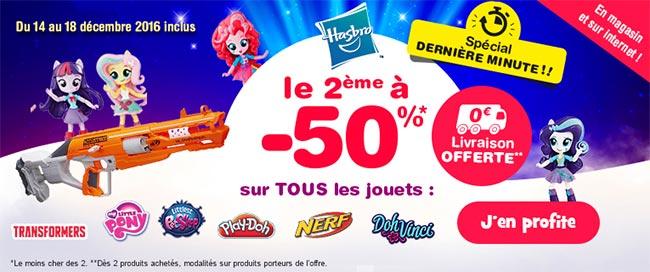 Économisez sur la gamme Hasbro chez Toysrus