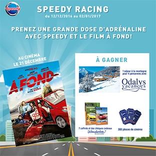 Jeu Speedy Racing : 65'007 cadeaux Wonderbox