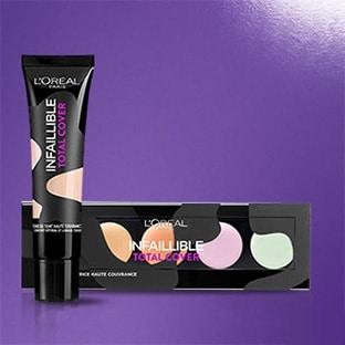 Test L'Oréal : 200 cosmétiques Infaillible Total Cover gratuits