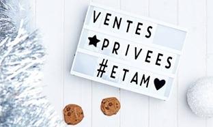Vente Privée Etam (pré-soldes 2018 ) : 40% de réduction