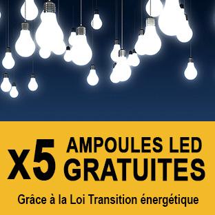 Recevoir gratuitement des ampoules