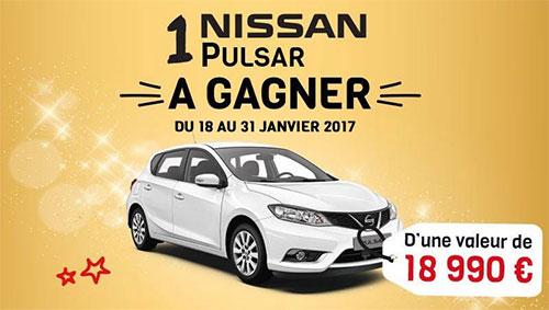 Tentez de gagner la voiture Pulsar de Nissan