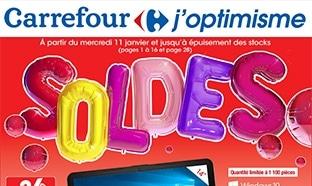 Magasins Carrefour : Catalogue Soldes d'hiver 2017