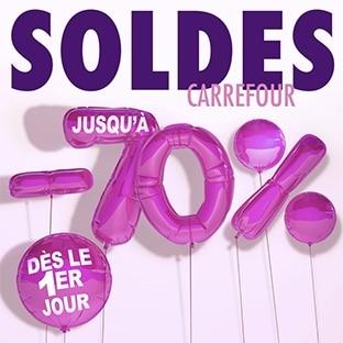 Magasins Carrefour : Catalogue Soldes d'hiver 2018