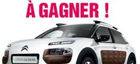 Jeu Blancheporte : 1 voiture Citroën C4 Cactus à gagner