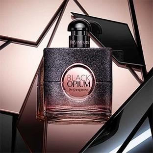 Échantillon gratuit du parfum Black Opium Floral Shock d'YSL