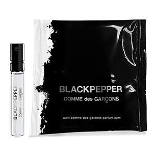 Échantillon gratuit du parfum Comme des garçons Blackpepper