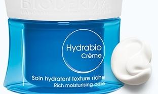 Échantillons gratuits du soin hydratant Hydrabio de Bioderma
