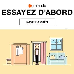 Actu Zalando : Essayez gratuitement avant de payer !