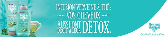 tester les soins capillaires Le Petit Marseillais Fraîcheur Détox