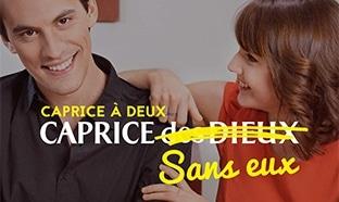 Jeu CapriceDesDieux.com : Séjour de rêve et 334 cadeaux à gagner