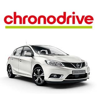 Jeu Chronodrive : 1 voiture Nissan Pulsar à gagner