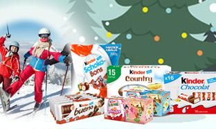 Jeu Kinder : 1043 cadeaux à gagner dont 1 séjour au Ski