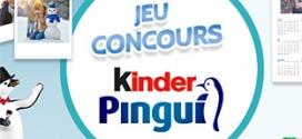 Jeu Kinder Pingui : 375 packs de chocolats et 805 lots à gagner
