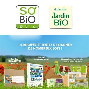 Jeu SO'BiO étic : Coffrets de produits, Natura Box… à gagner