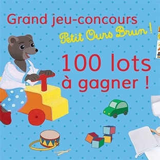 Jeu Bayard : 100 cadeaux Petit Ours Brun à gagner