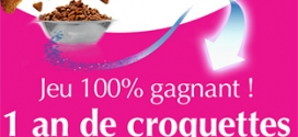 Jeu Purina One : 200 lots d'un an de croquettes à remporter