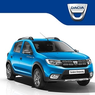 jeu dacia une voiture dacia sandero stepway gagner. Black Bedroom Furniture Sets. Home Design Ideas