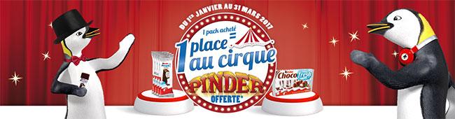Obtenez des entrées gratuites pour le Cirque Pinder