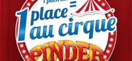 1 pack Kinder Pingui acheté = 1 place au Cirque Pinder offerte