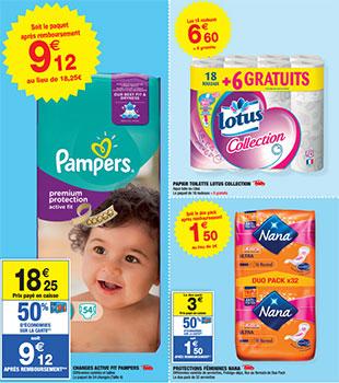 Bon plan Pampers Carrefour