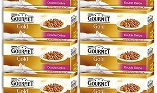 Promo alimentation pour chats : Gourmet Gold