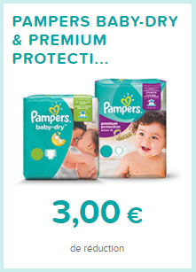 Intermarch couches pampers pas ch res pack 8 72 bdr - Reduction couches pampers a imprimer ...