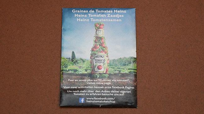 Échantillons gratuits de graines Heinz à recevoir gratuitement