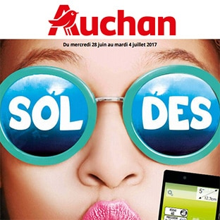 catalogue soldes t 2017 des magasins auchan. Black Bedroom Furniture Sets. Home Design Ideas