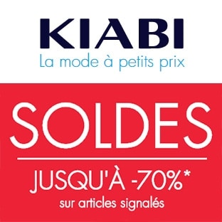 Soldes Kiabi : Jusqu'à -70% + 13% de réduction le vendredi 13
