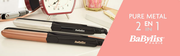 test du lisseur boucleur pure m tal de babyliss 30 gratuits. Black Bedroom Furniture Sets. Home Design Ideas