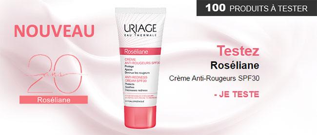 testez gratuitement le soin Roséliane d'Uriage