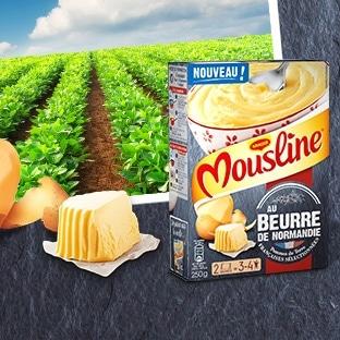 Test Purée Mousline au Beurre de Normandie : 2000 gratuites