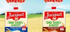 Test Jacquet : 2000 pains de mie sans sucres ajoutés gratuits