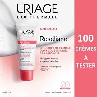 Test Uriage : 100 Crèmes Anti-Rougeurs Roséliane gratuites