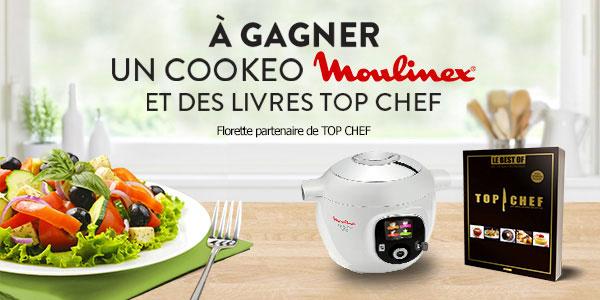 Jeu Top Chef Florette 1 Robot Cookeo Et 30 Livres De Recettes