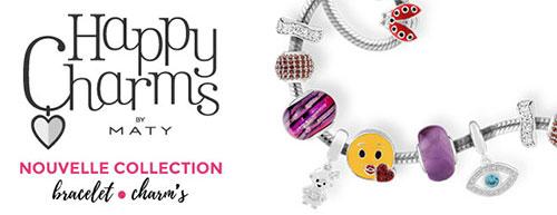 Tentez de remporter 1 bracelet Charm's par jour avec les bijouteries Maty