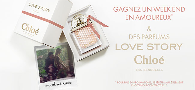 remportez l'un des 20 parfums Eau Sensuelle de Chloé ou une Wonderbox
