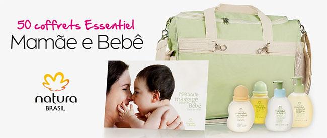 gagnez l'un des 50 coffrets Natura Brasil pour bébé