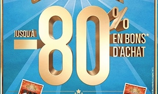 Catalogue Carrefour Les Hyper Chanceux : -80% en bons d'achat