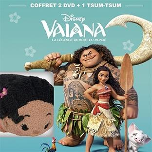 Bon plan Amazon : Coffret 2 DVD Disney + 1 peluche à 19,99€