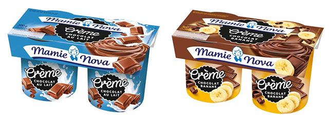 Offre de remboursement : Crèmes gourmandes Mamie Nova