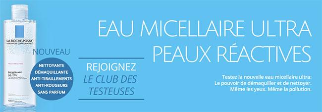 testez gratuitement une Eau Micellaire La Roche-Posay