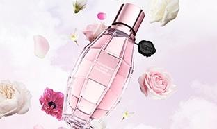 Échantillons du parfum Flowerbom Bloom de Viktor&Rolf