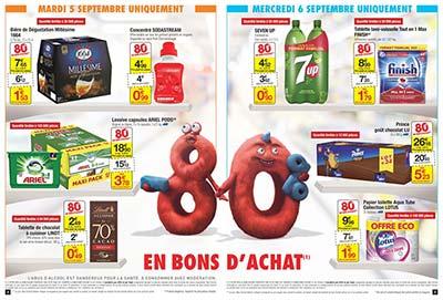 Catalogue carrefour les extra conomies 80 en bons d 39 achat for Les economes catalogue