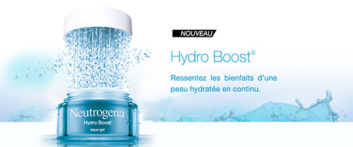 Tentez de tester le soin Hydro Boost de Neutrogena